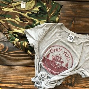 FOREST EDITION T-shirt bundle of two sz S/M